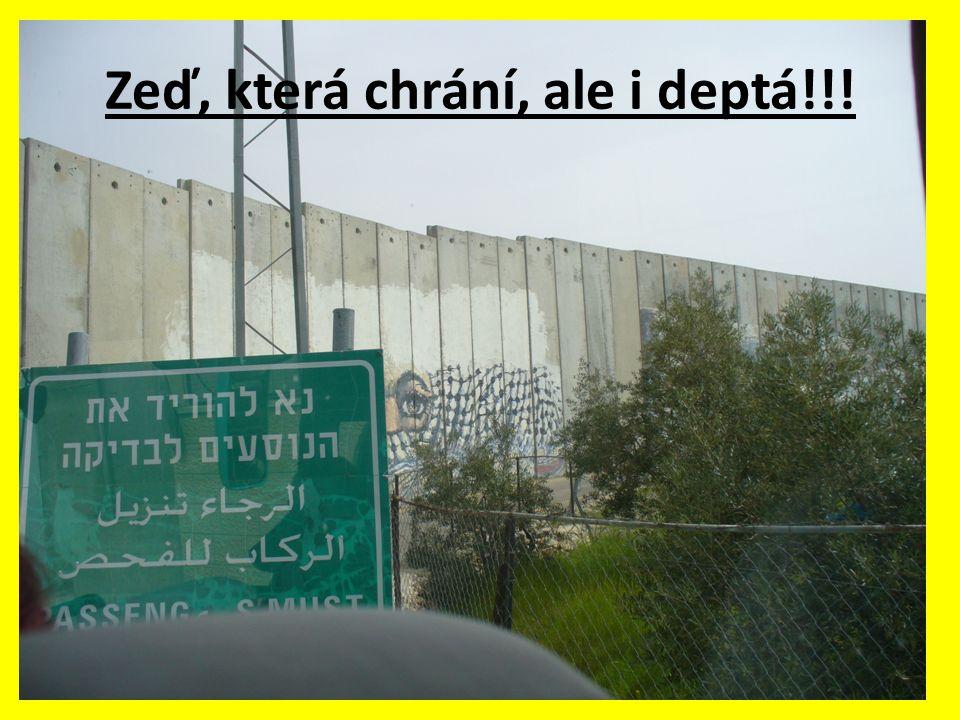 Zeď, která chrání, ale i deptá!!!