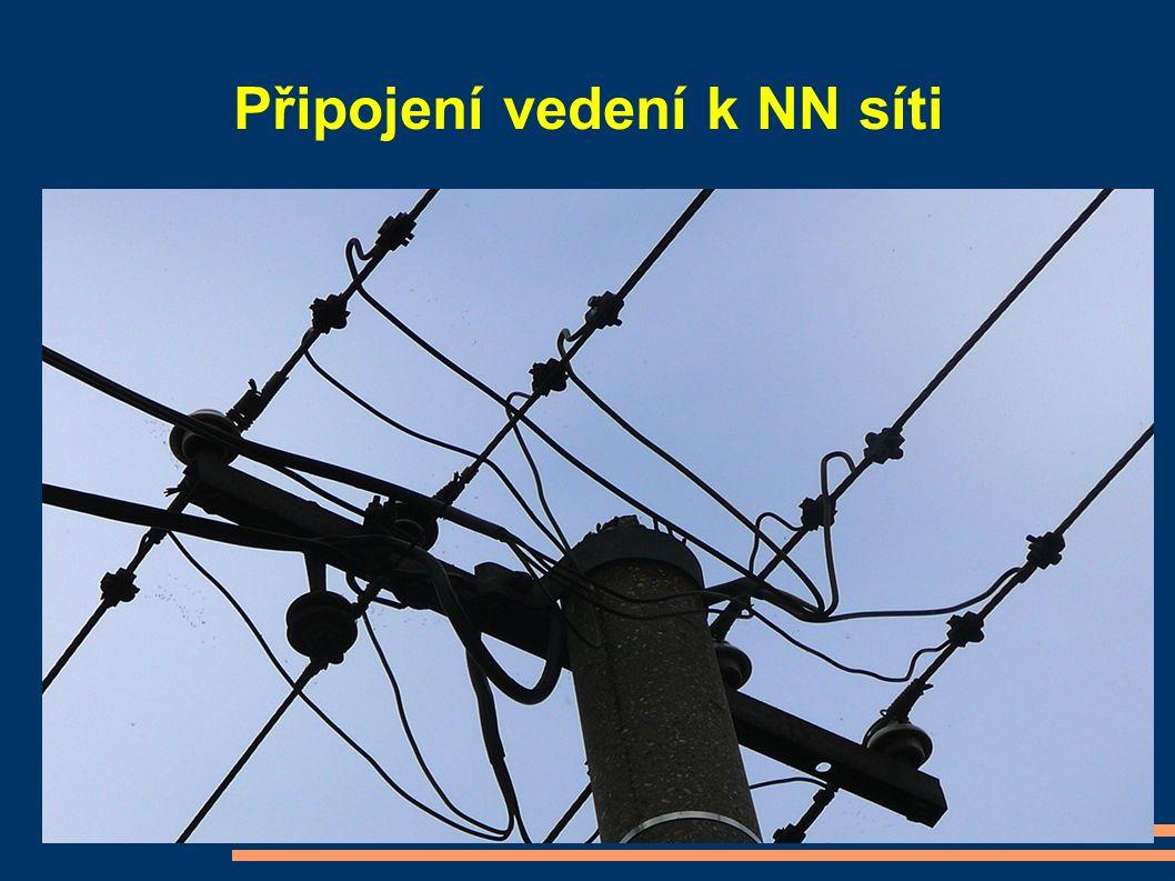Připojení vedení k NN síti
