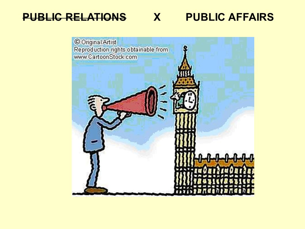 PUBLIC RELATIONS XPUBLIC AFFAIRS