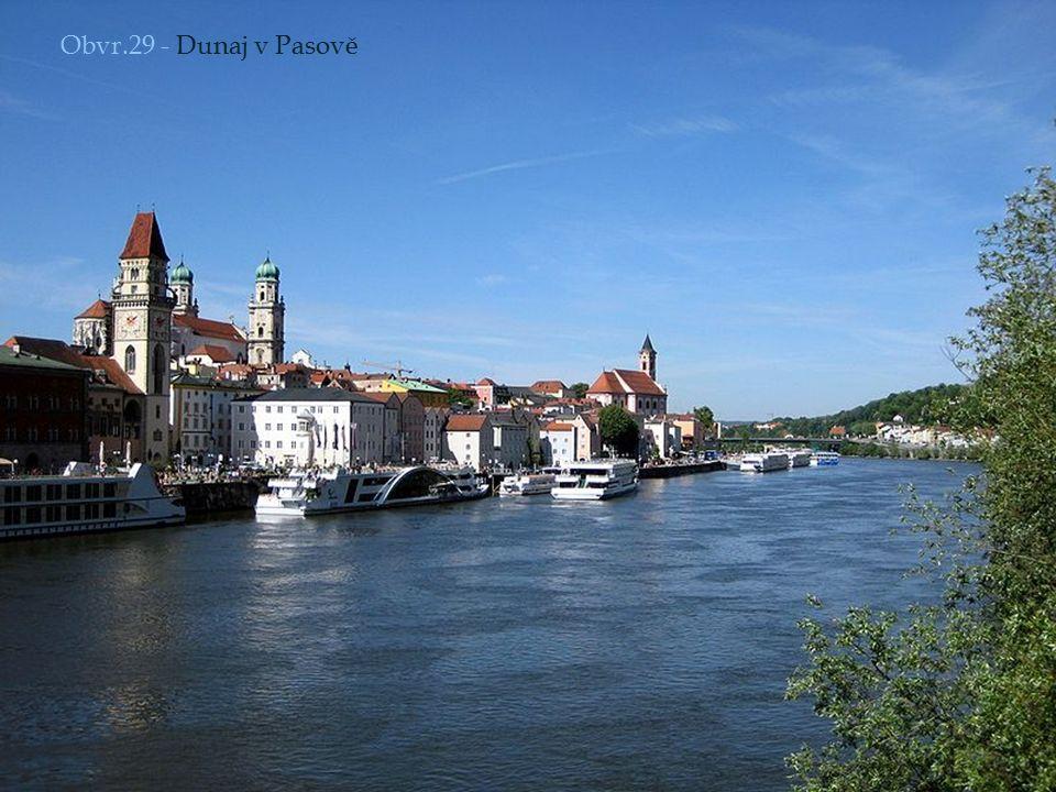 Obvr.29 - Dunaj v Pasově