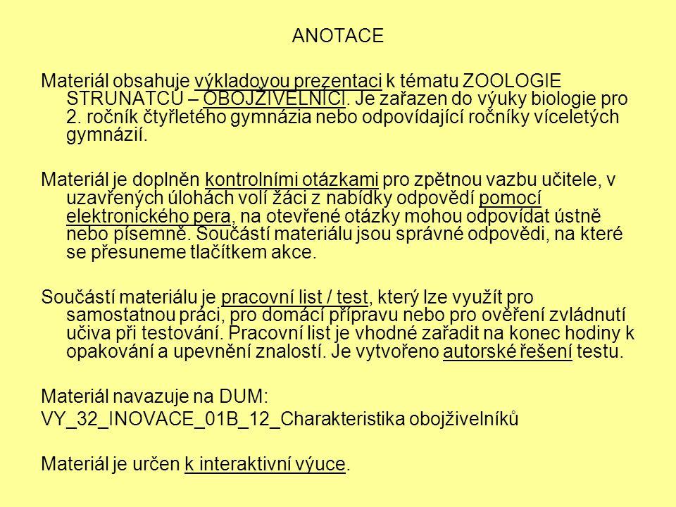 LITERÁRNÍ ZDROJE: PAPÁČEK, Miroslav a kol.Zoologie.