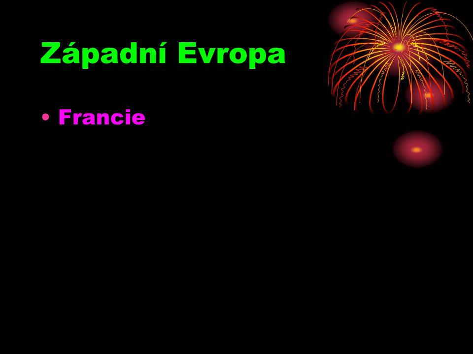 Západní Evropa Francie