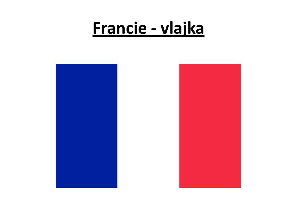 Francie - vlajka