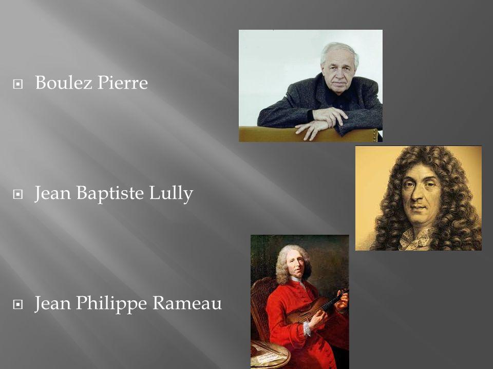  Boulez Pierre  Jean Baptiste Lully  Jean Philippe Rameau