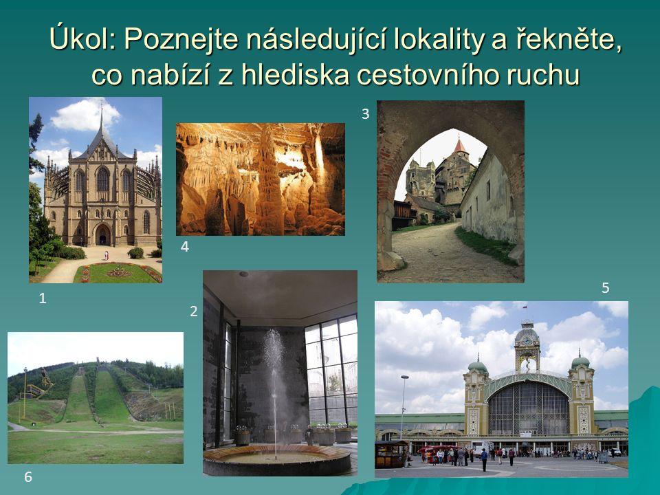 Řešení 1.Chrám sv. Barbory v Kutné Hoře 2. Vřídlo – Karlovy Vary 3.