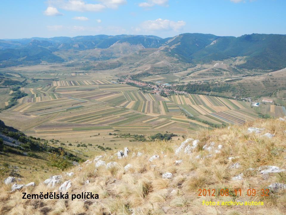 Zemědělská políčka Foto z archivu autora