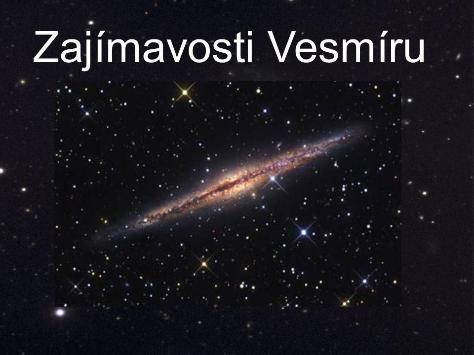 Zajímavosti Vesmíru
