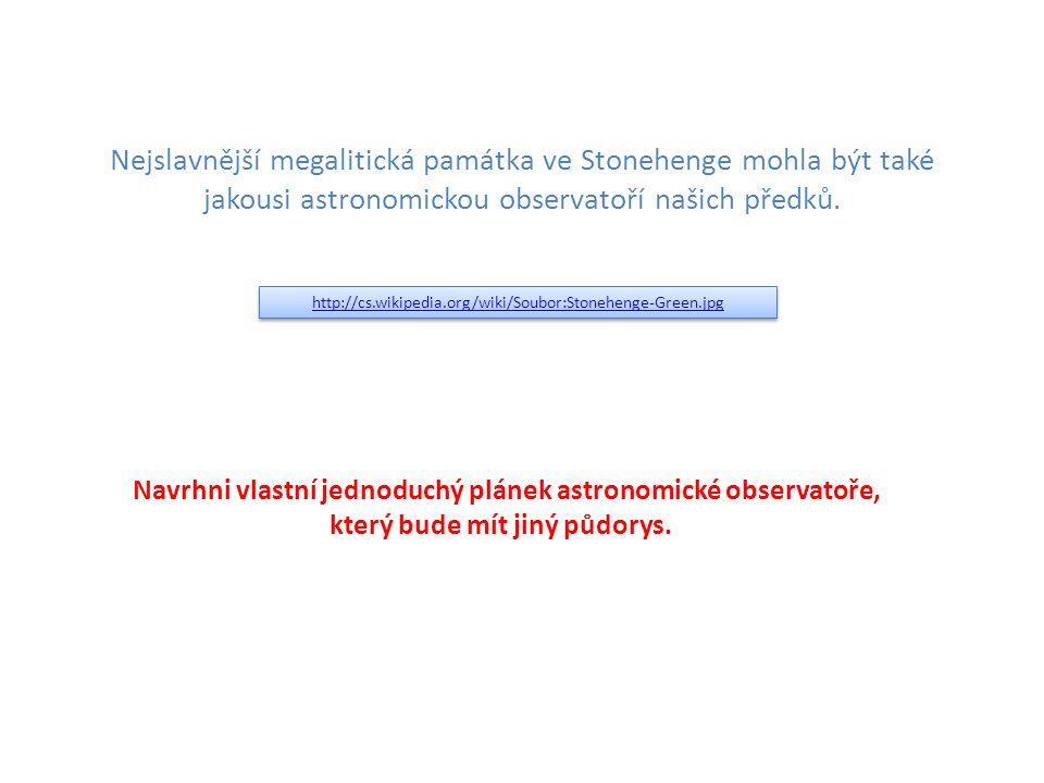 Nejslavnější megalitická památka ve Stonehenge mohla být také jakousi astronomickou observatoří našich předků.