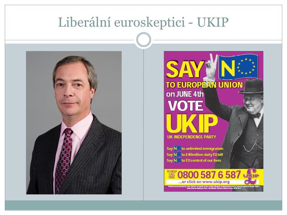 Liberální euroskeptici - UKIP