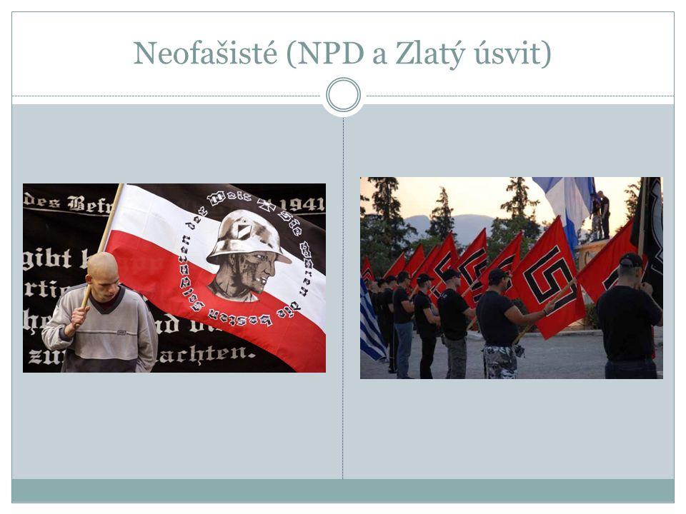 Neofašisté (NPD a Zlatý úsvit)