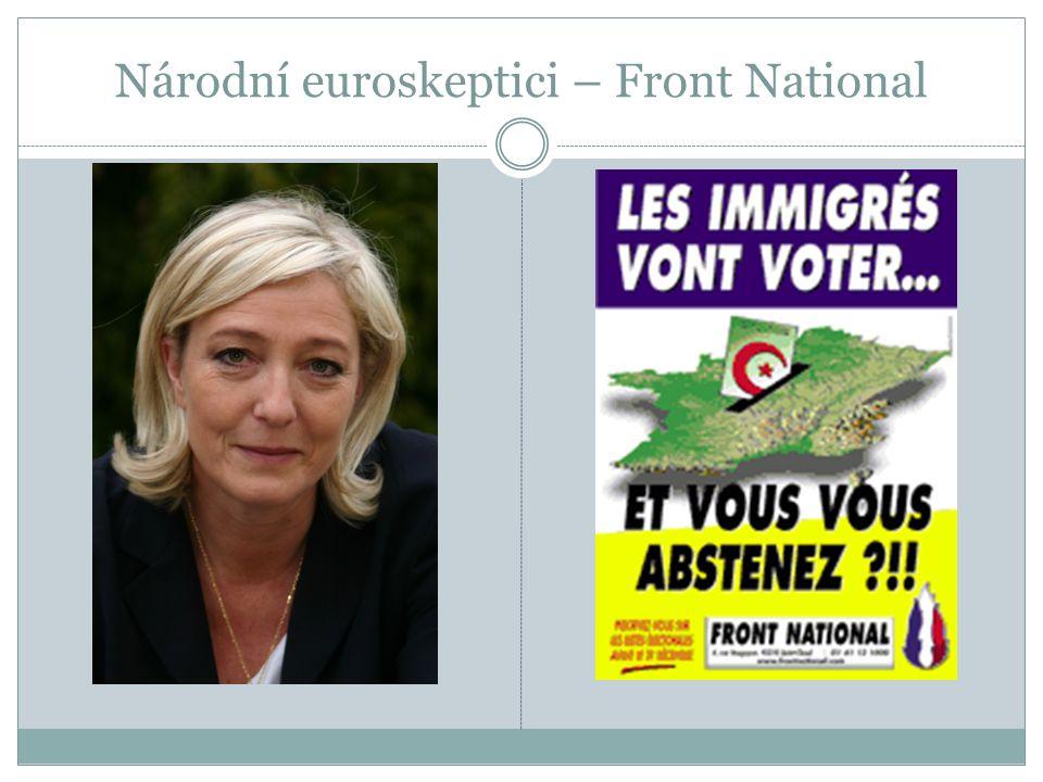 Národní euroskeptici – Front National