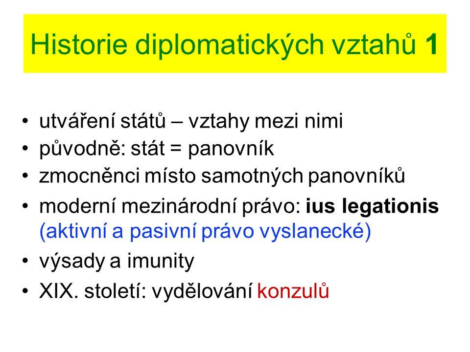Imunity diplomatické mise - 2 Daňová imunita daně a dávky včetně poplatků za víza aj.