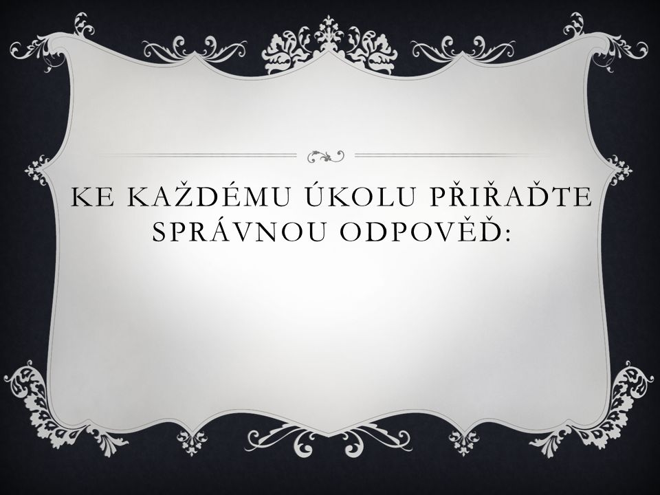 KAREL JAROMÍR ERBEN Znáš pohádky Karla Jaromíra Erbena
