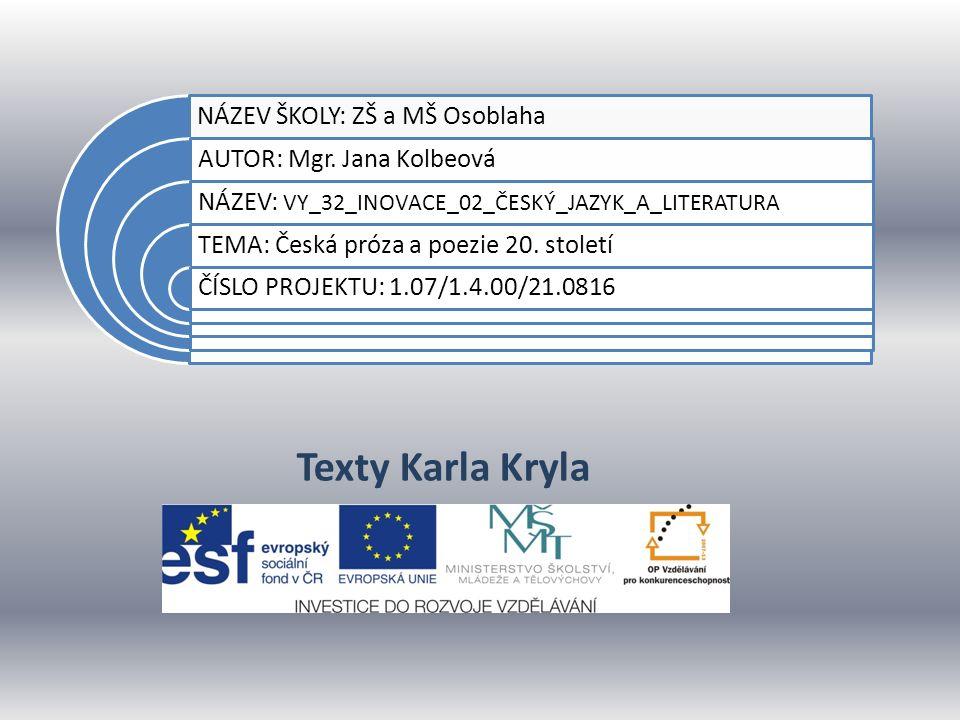 Datum vytvoření projektuúnor 2012 Ročník9.