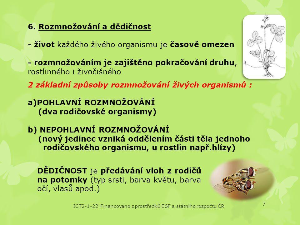ICT2-1-22 Financováno z prostředků ESF a státního rozpočtu ČR 7 6.