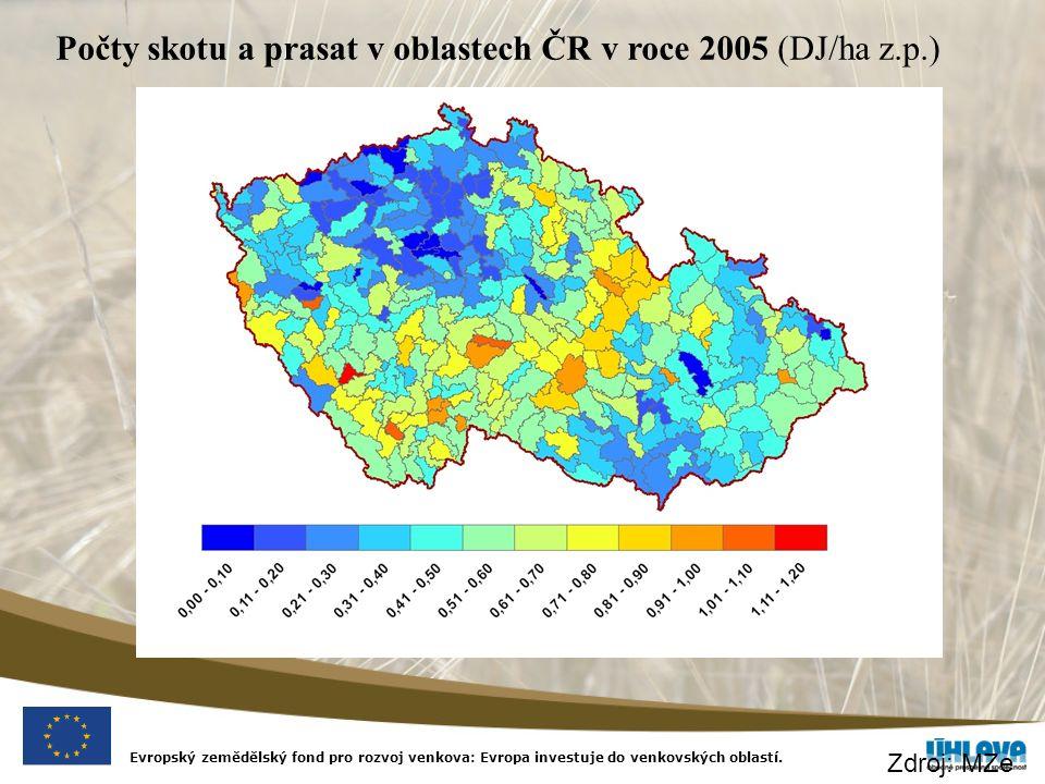 Nitrátová směrnice EU-25 (zranitelné oblasti k 1.6.2006) zemědělská půda v ZOD D–100 % A–100 % CZ– 45 % PL– cca 1 %