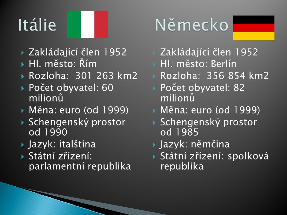  Vstup do EU: 1973  Hl.