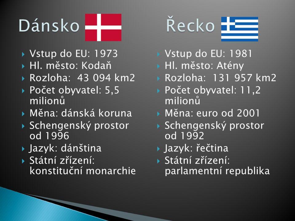  Vstup do EU: 1986  Hl.