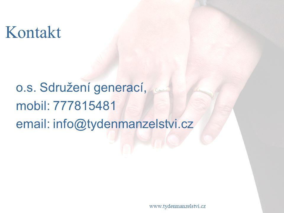 www.tydenmanzelstvi.cz Kontakt o.s.