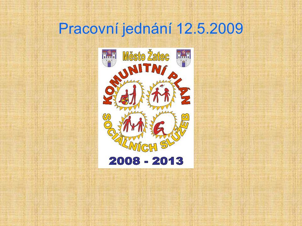 Pracovní jednání 12.5.2009