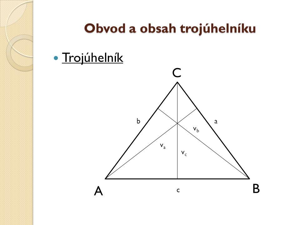 Popis trojúhelníku Trojúhelníky rozlišujeme: ostroúhlý, tupoúhlý a pravoúhlý.