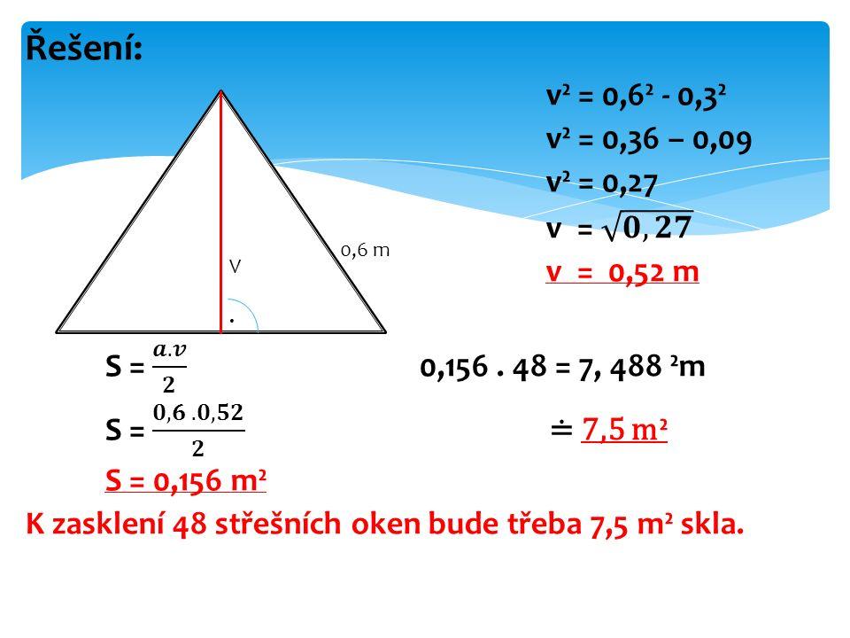 0,6 m V.