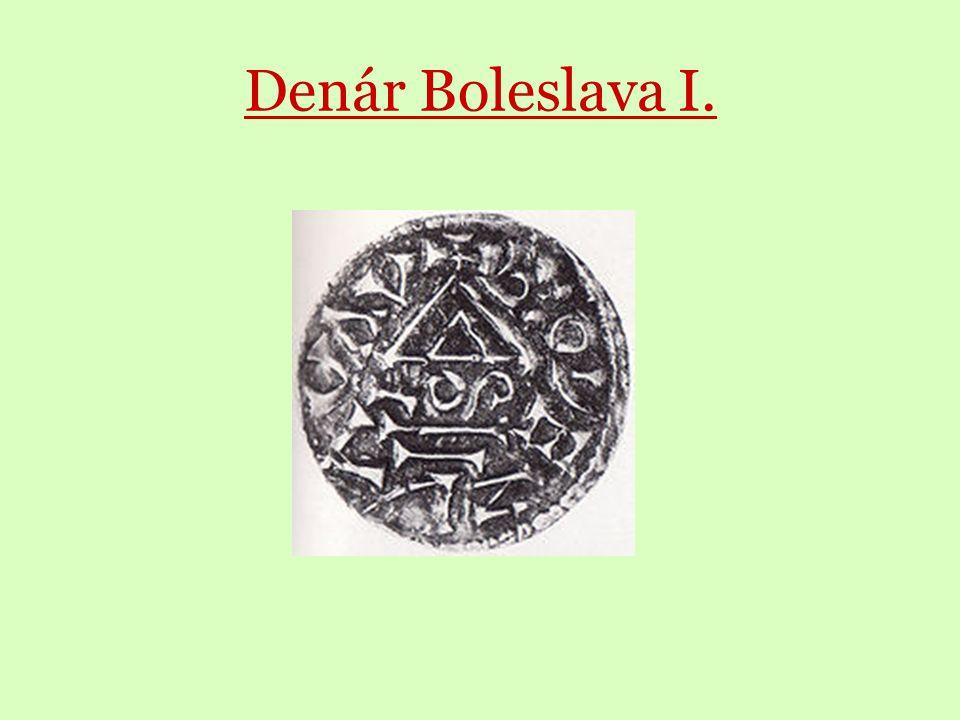 Denár Boleslava I.
