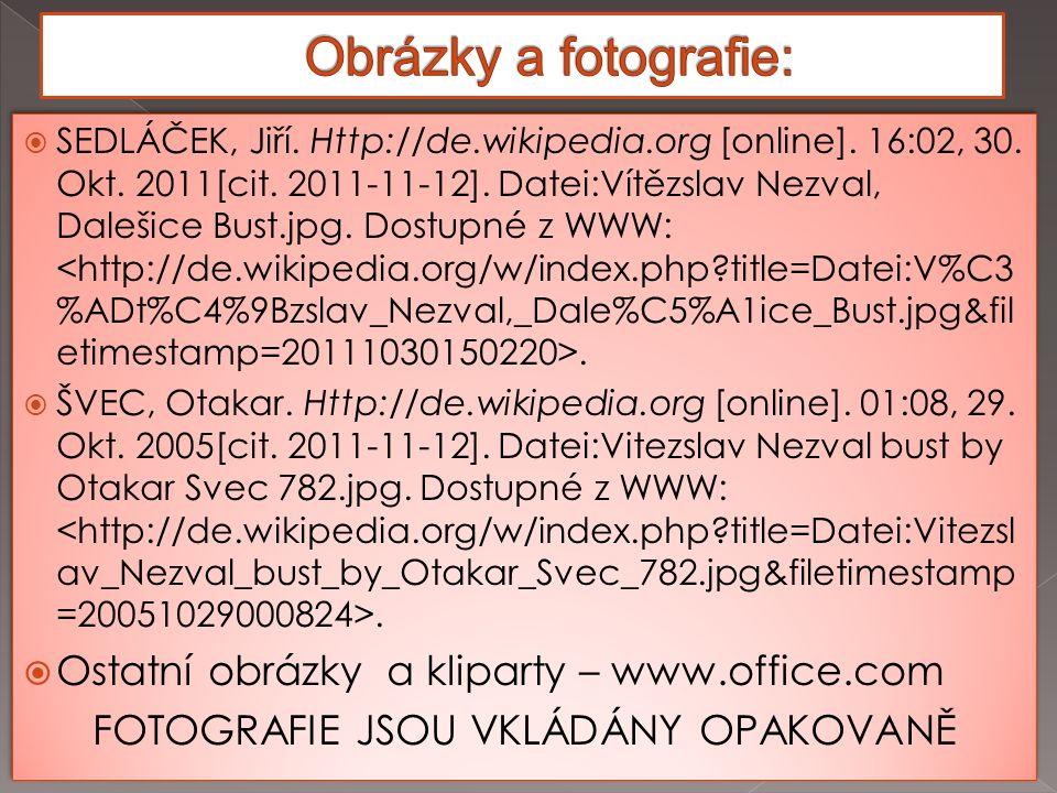  SEDLÁČEK, Jiří. Http://de.wikipedia.org [online].