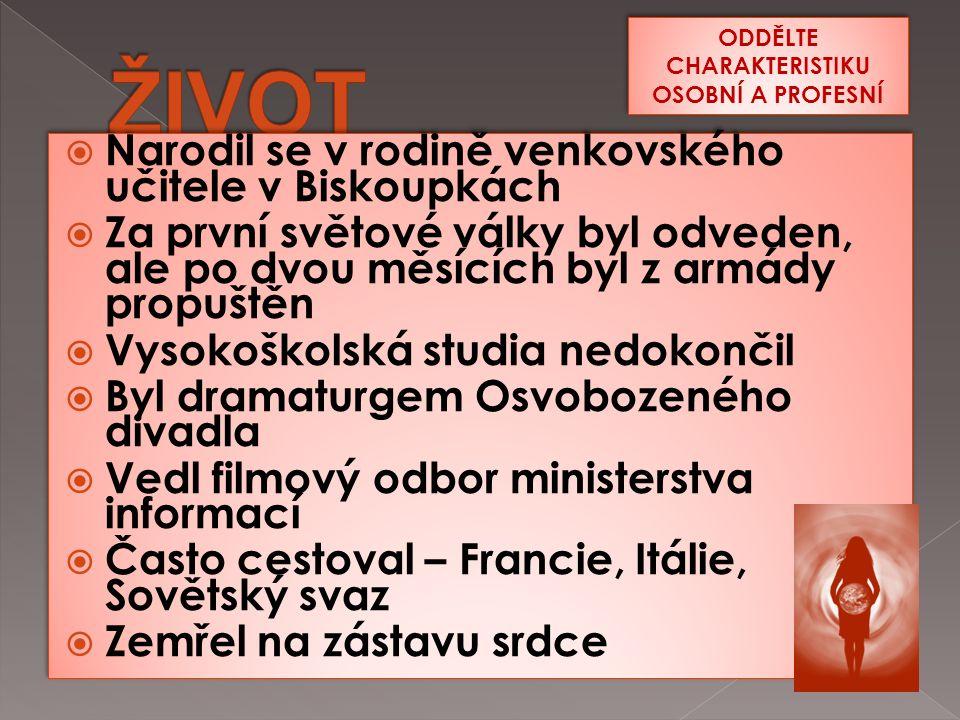  Devětsil = seskupení českých avantgardních umělců.