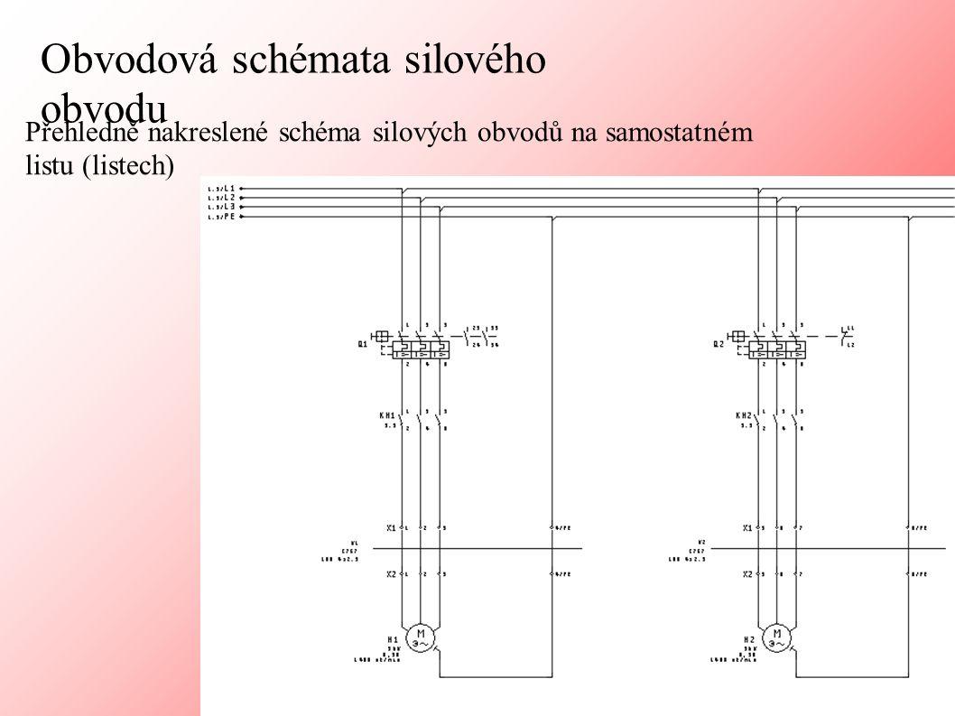 Regulační a řídicí obvody (obvodové schéma + SPS přehledové)