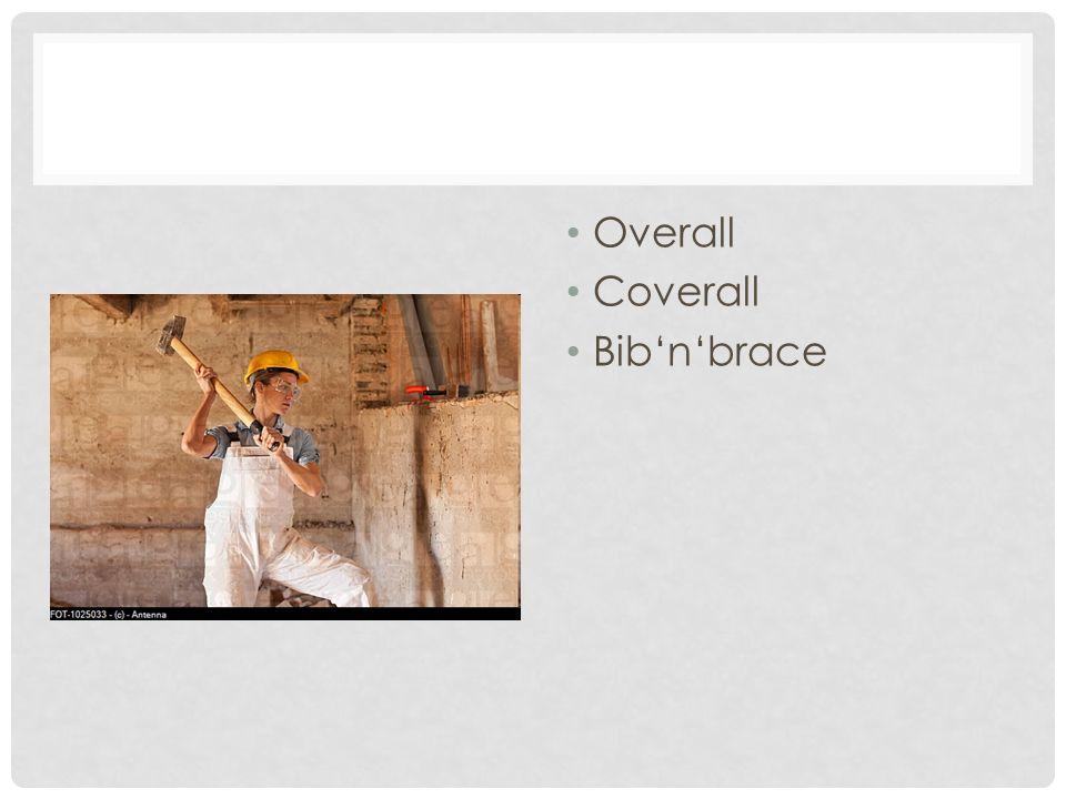 Overall Coverall Bib'n'brace
