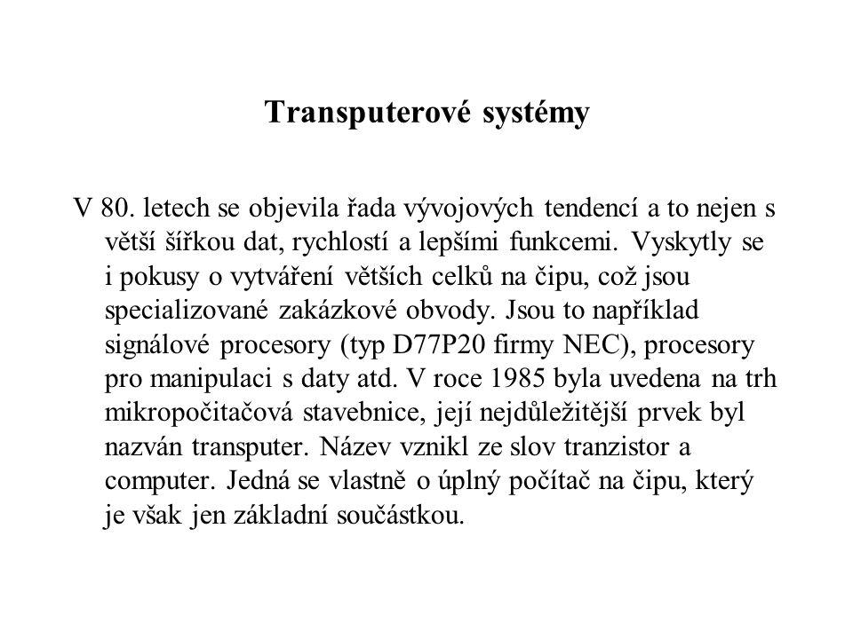 Transputerové systémy V 80.