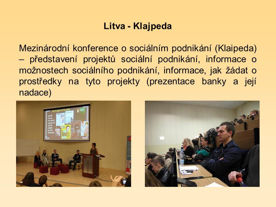 "Litva - Vilnius Salad Bar ""MANO GURU – projekt návratu osob s drogovou a alkoholovou závislosti zpět do běžného života."