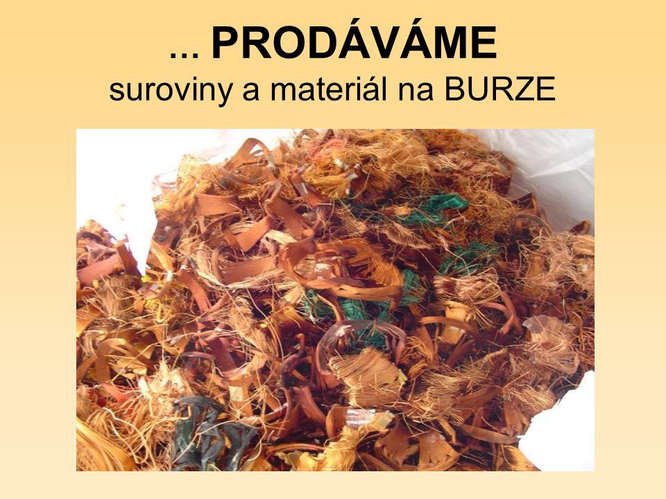 … PRODÁVÁME na www.jv-art.cz