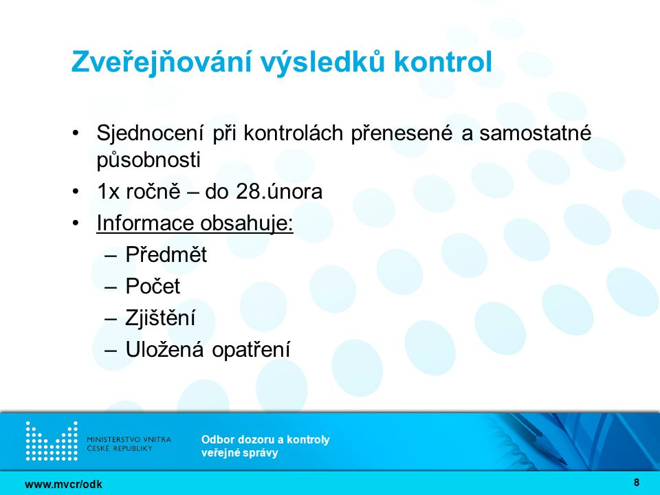 www.mvcr/odk Odbor dozoru a kontroly veřejné správy 9 Plán kontrol ÚSÚ na 2014 – 2016 připomínky možno zaslat do 14.