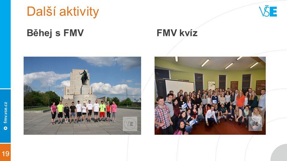 19 Další aktivity Běhej s FMVFMV kvíz