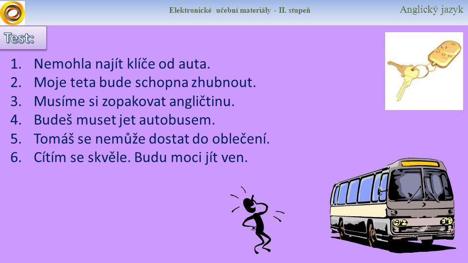 Elektronické učební materiály - II.stupeň Anglický jazyk HUTCHINSON, Tom.