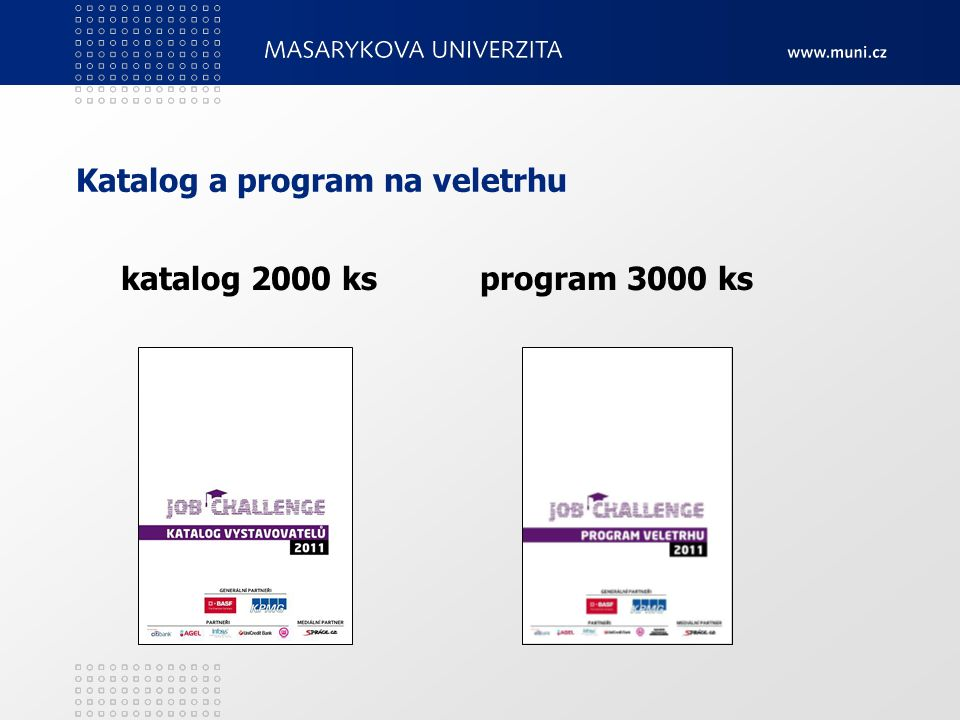 Katalog a program na veletrhu katalog 2000 ks program 3000 ks