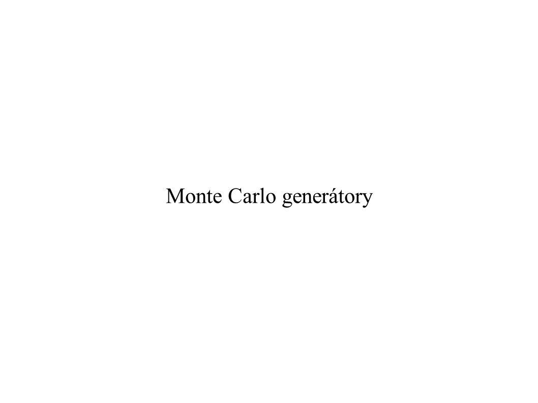 Monte Carlo generátory