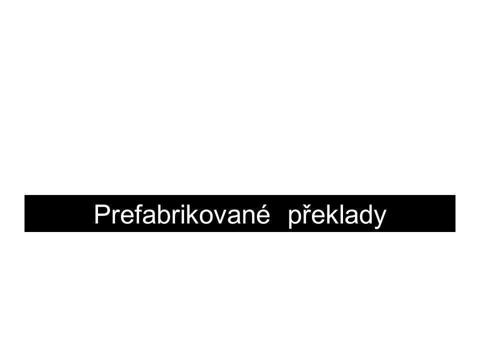 Prefabrikované překlady