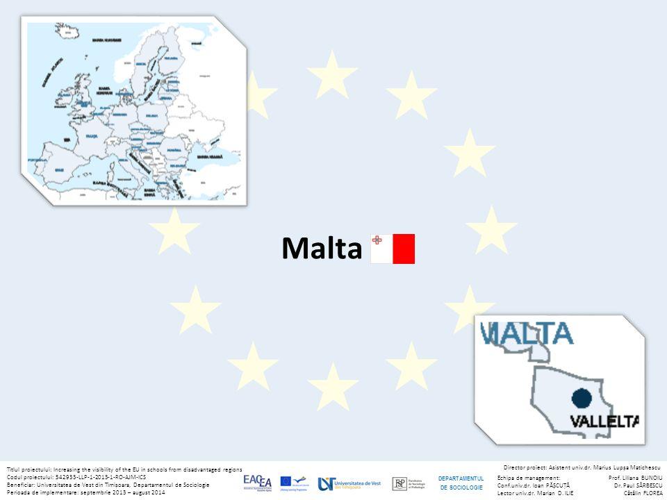 Titlul proiectului: Increasing the visibility of the EU in schools from disadvantaged regions Codul proiectului: 542933-LLP-1-2013-1-RO-AJM-ICS Beneficiar: Universitatea de Vest din Timișoara, Departamentul de Sociologie Perioada de implementare: septembrie 2013 – august 2014 Echipa de management: Conf.univ.dr.