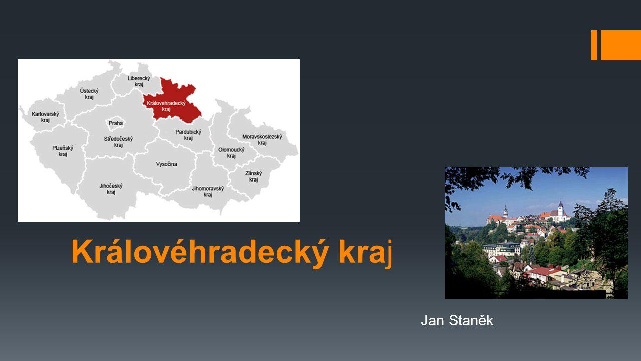 Informace o kraji  Královéhradecký kraj leží v severovýchodní části Čech.