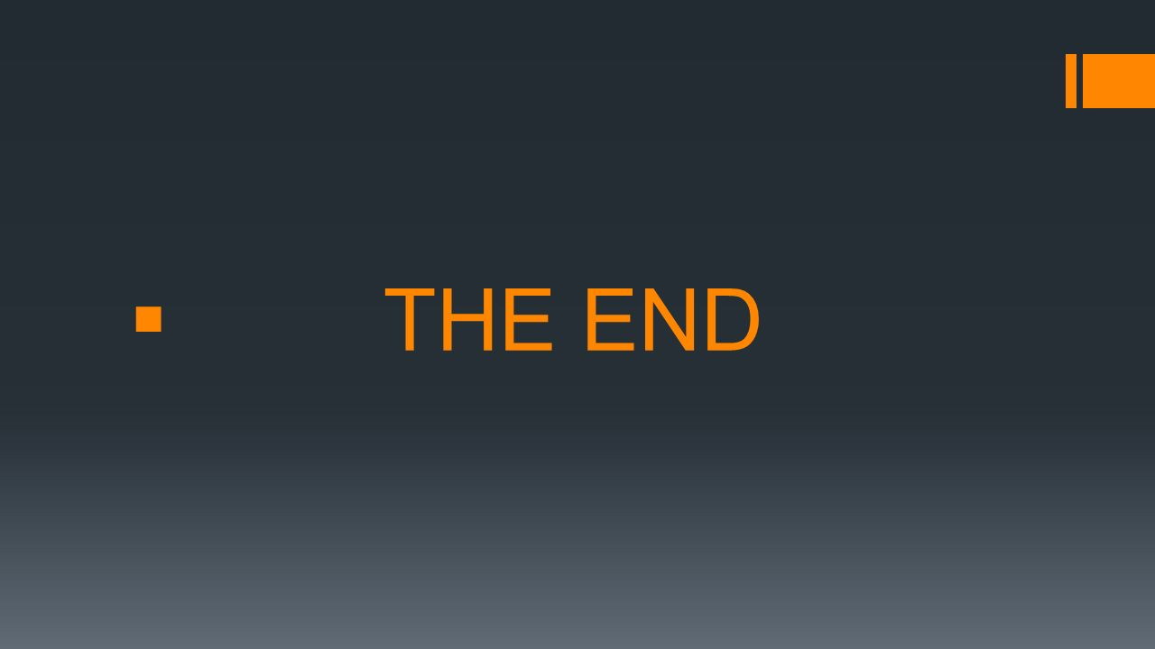  THE END