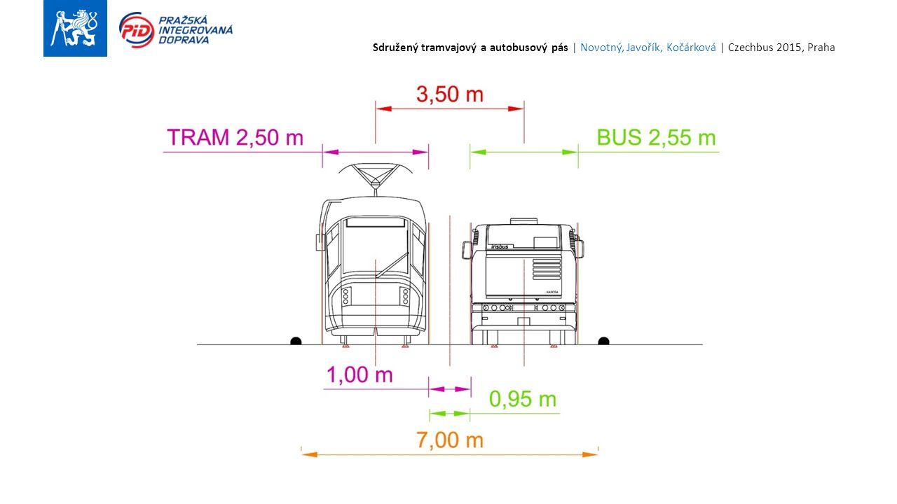 14 Sdružený tramvajový a autobusový pás | Novotný, Javořík, Kočárková | Czechbus 2015, Praha
