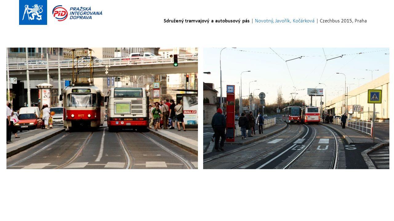 23 Sdružený tramvajový a autobusový pás | Novotný, Javořík, Kočárková | Czechbus 2015, Praha