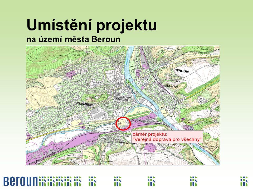 Umístění projektu na území města Beroun
