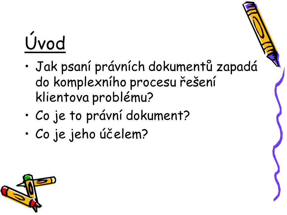 Řešení klientova problému 1.Vznik problému -> 2.