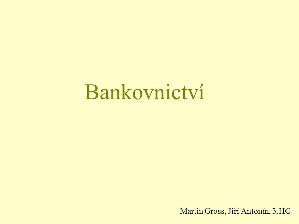 Bankovnictví Martin Gross, Jiří Antonín, 3.HG