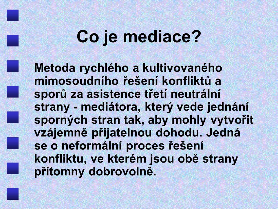Co je mediace.