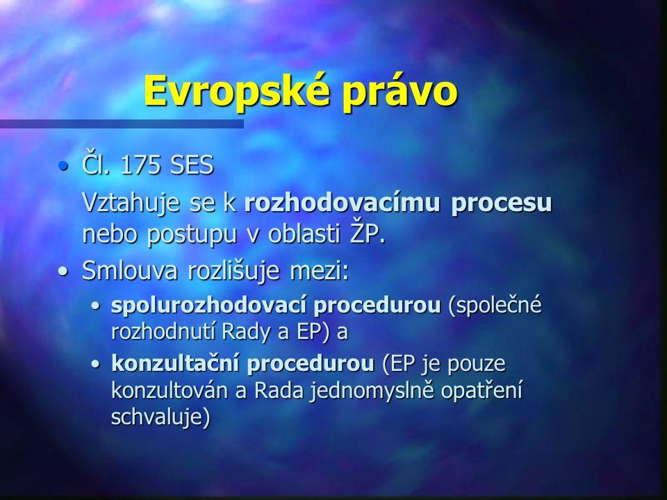 Evropské právo Čl.175 SESČl.